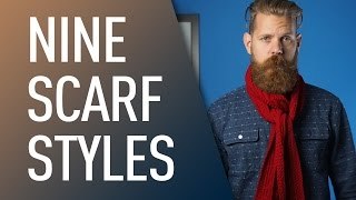9 ways to tie a scarf men s style   eric bandholz