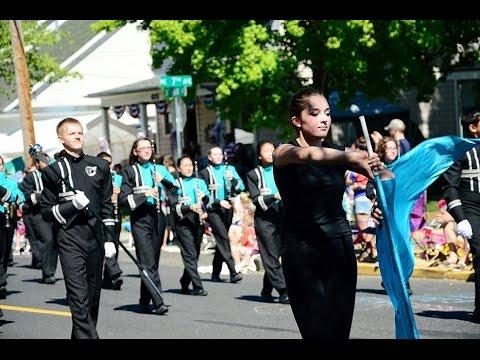 Hillsboro OREGON Forth of July Parade 2015