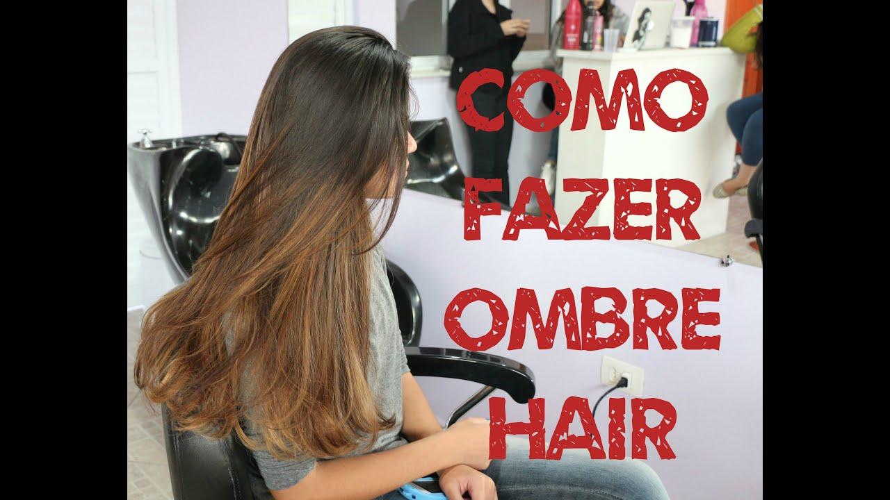 Bianca Hulmann Quarto Da Valentina ~ Como fazer Ombre Hair  Passo a passo por Bianca Hulmann  FunnyDog TV