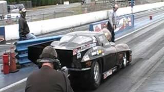 Donna King crash @ piedmont dragway