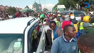 Raila Odinga\'s aides in gun drama with traffic police in Nakuru