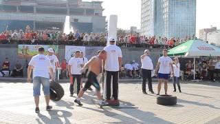 Strongman MINSK OPEN CUP - 2014