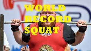 IPF World Champion (World Record Squat)