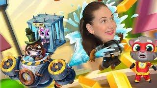 Соревнования побей Енота как в Том за золотом  Супер Анджела против супер Тома от Каталекс!