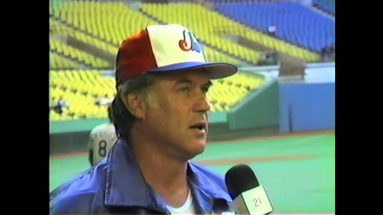 Expos Manager Buck Rogers - 1985