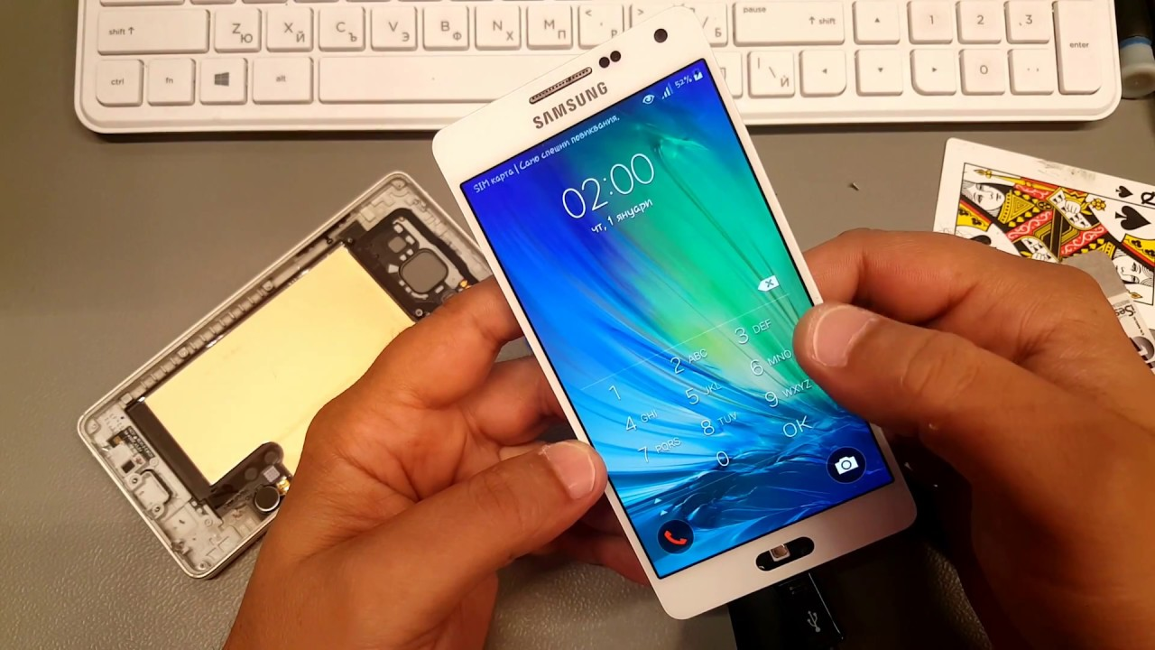 BOOM!!! How to Open / Disassembly Samsung A5 2015 SM-A500F Without broke  display