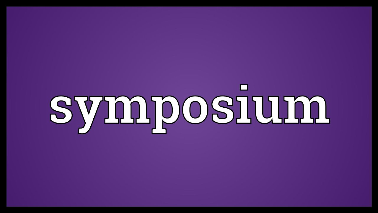 what does the word symposium mean