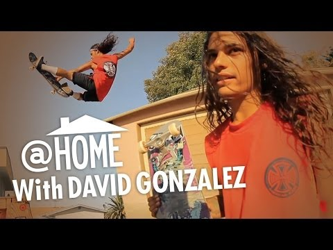 At Home with David Gonzalez