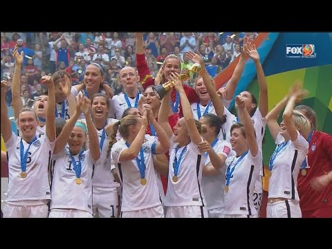US Women's Soccer Team Takes Over NYC