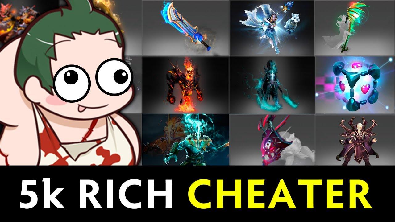 rich 5000 mmr cheater beware of scripts hacks in dota youtube