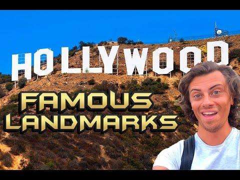 Sightseeing In LOS ANGELES - Travelling In America..!  |  ANDY BRADLEY