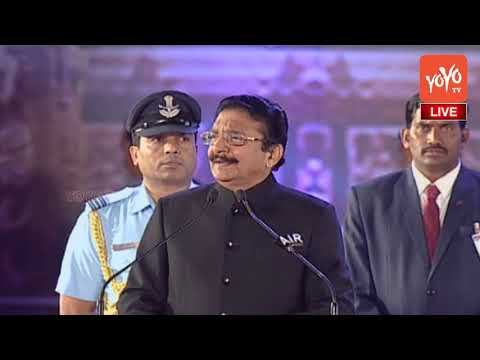 Maharashtra Governor C Vidyasagar Rao Excellent Speech at World Telugu Conference | YOYO TV Channel