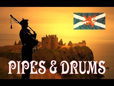 ⚡️💥💥Scotland the Brave Extended ♦︎ Pipes & Drums💥💥⚡️