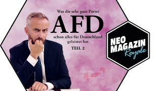 Was die sehr gute Partei AfD schon alles für Deutschland geleistet hat – Teil 2