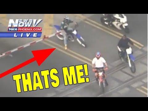WE DID WHEELIES ON THE NEWS! Miami MLK Rideout 2018!