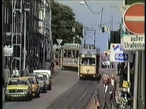 Die ehemalige Kieler Straßenbahn. Vintage tram in Kiel Trailer von tram-TV