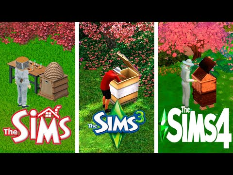 ♦ Sims 1 - Sims 3 - Sims 4 : Beekeeping - Evolution |