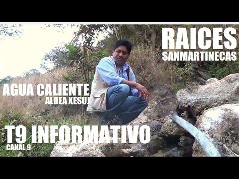 RAICES SANMARTINECAS agua