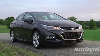 2016 Chevy Cruze Premier Test Drive Video Review(http://www.autobytel.com/chevrolet/cruze/2016/?id=32972 The 2016 model marks the fully revised 2nd generation that is notably more upscale on the inside., 2016-06-07T15:35:57.000Z)
