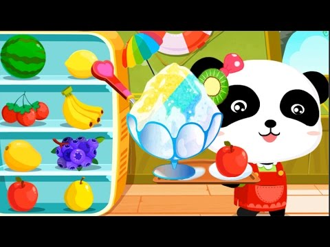 Baby Panda Games - Kids Making Summer Yummy Ice Cream & Learn Occupation | Fun Animated Kid Game