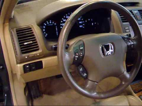 EDirect Motors   2004 Honda Accord EX L V6 Navigation   YouTube
