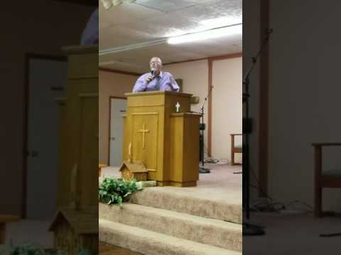 The first night of Revival at SAVING GRACE MINISTRIES Pastor Gary Grubbs part 2