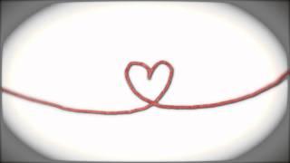 Repeat youtube video [HD]無料動画・背景素材「ハートの赤い糸」余興ビデオや自作ビデオに★