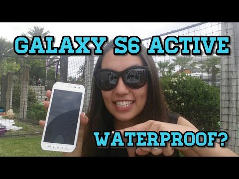 How Wet Can it Get?!? Samsung Galaxy S6 Active