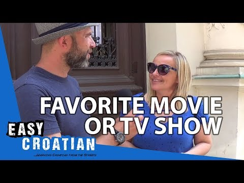 Your Favourite Movies And TV Series | Easy Croatian 22