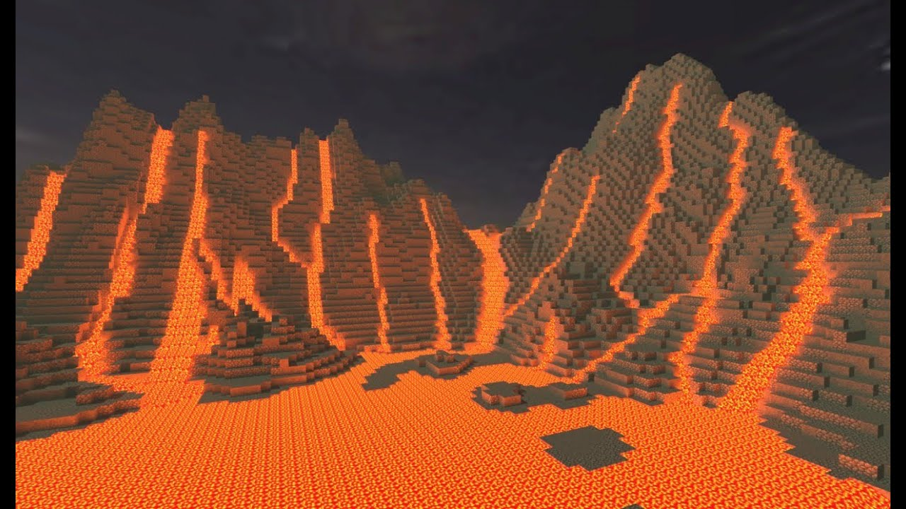 How to find mountain lava in minecraft youtube for How to buy a mountain