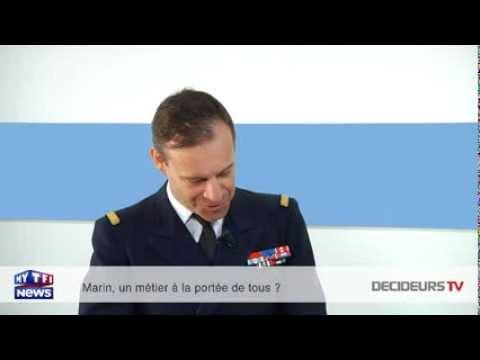 Commandant Marc Pouly : « L'ancien DRH de la Marine a commencé sa carrière comme mousse ! »