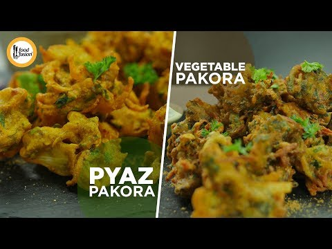 Vegetable  & Pyaz Pakora Recipes By Food Fusion (Ramzan Special Iftar recipe)