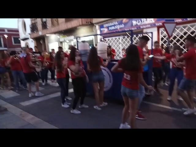 Peña CIA - Comunidad Individuos Alcohólicos - Fiestas del Vino Valdepeñas 2017
