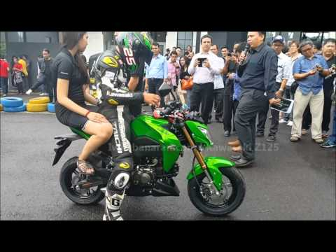 Kawasaki Z125 Indonesia Launching (HD)