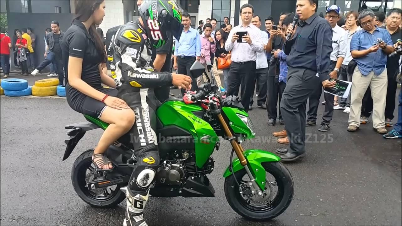 Kawasaki Z125 Indonesia Launching Hd Youtube