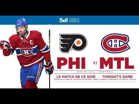 NHL 19 PS4. REGULAR SEASON 2018-2019: Philadelphia FLYERS VS Montreal CANADIENS. 01.19.2019. (NBCSN)