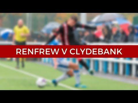 Renfrew v Clydebank 13/10/18