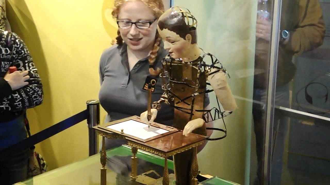maillardet s automaton at the franklin institute youtube