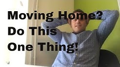 Moving Home Mortgage - DO THIS ONE THING!