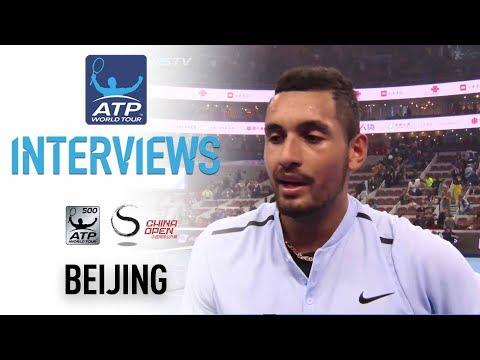 Kyrgios Reflects On Zverev Win In Beijing 2017