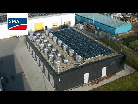【案場分享】歐洲大型公用事業公司部署SMA儲能系統,實現100%可再生能源的電力供應
