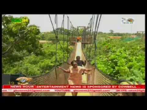 Accra version of Kakum Park opened at Legon Botanical Gardens