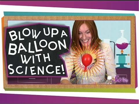 Blow Up A Balloon With Science! #sciencegoals