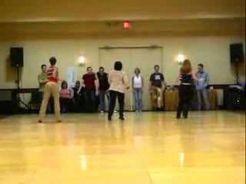 GUYTON MUNDY & JOHN ROBINSON DANCING AT TAMPA 2005