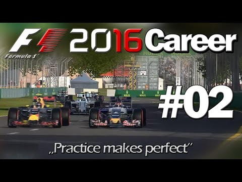 F1 2016 Career #02: A little practice before we start (PC)