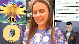 AMAZING REWARDS!! Shadow Zapdos & Evolution Event in Pokémon GO!