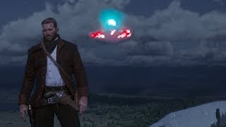 Red Dead Redemption 2 Second UFO. RDR2 UFO Easter Egg. Red Dead Red...