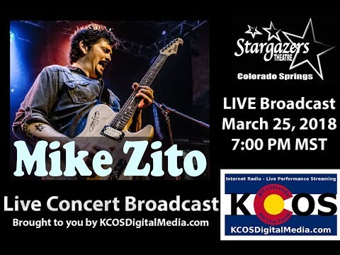 Mike Zito LIVE in concert at Stargazers Theatre