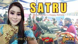 Download lagu SATRU || Cover || Putri Cebret feat Mc, Bowo Kawer || TONY'S Electone || DANS 18 📲 🙏🏼😁🙏🏼
