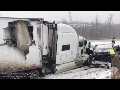1-12-18 I40 Significant Pileup - Carroll-Decatur County Tennessee